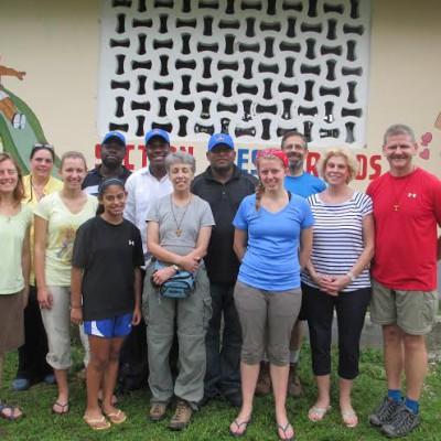 Tim White in Haiti